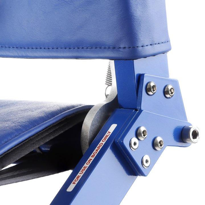 Folding hinge on Airchair