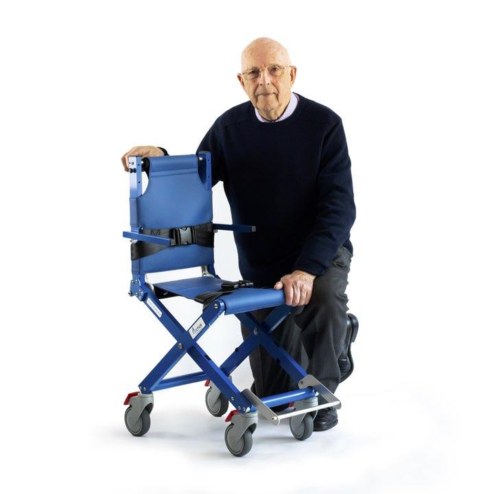 Airchair designer Brian Richards