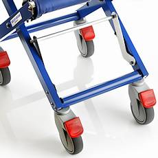 Airchair footrest retracted
