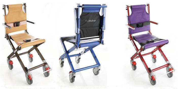 Airchairs in corporate colours